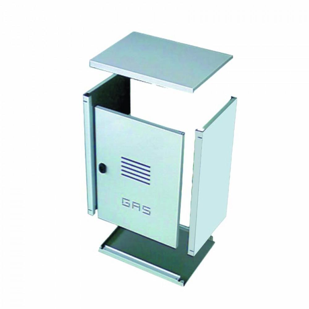 Cassetta per contatore gas in acciaio inox