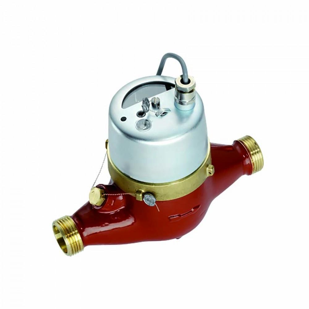 Contatore acqua calda quadrante asciutto con emettitore d'impulsi