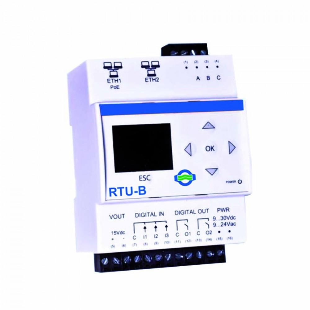 Centralina datalogger m-bus wired rtu-b