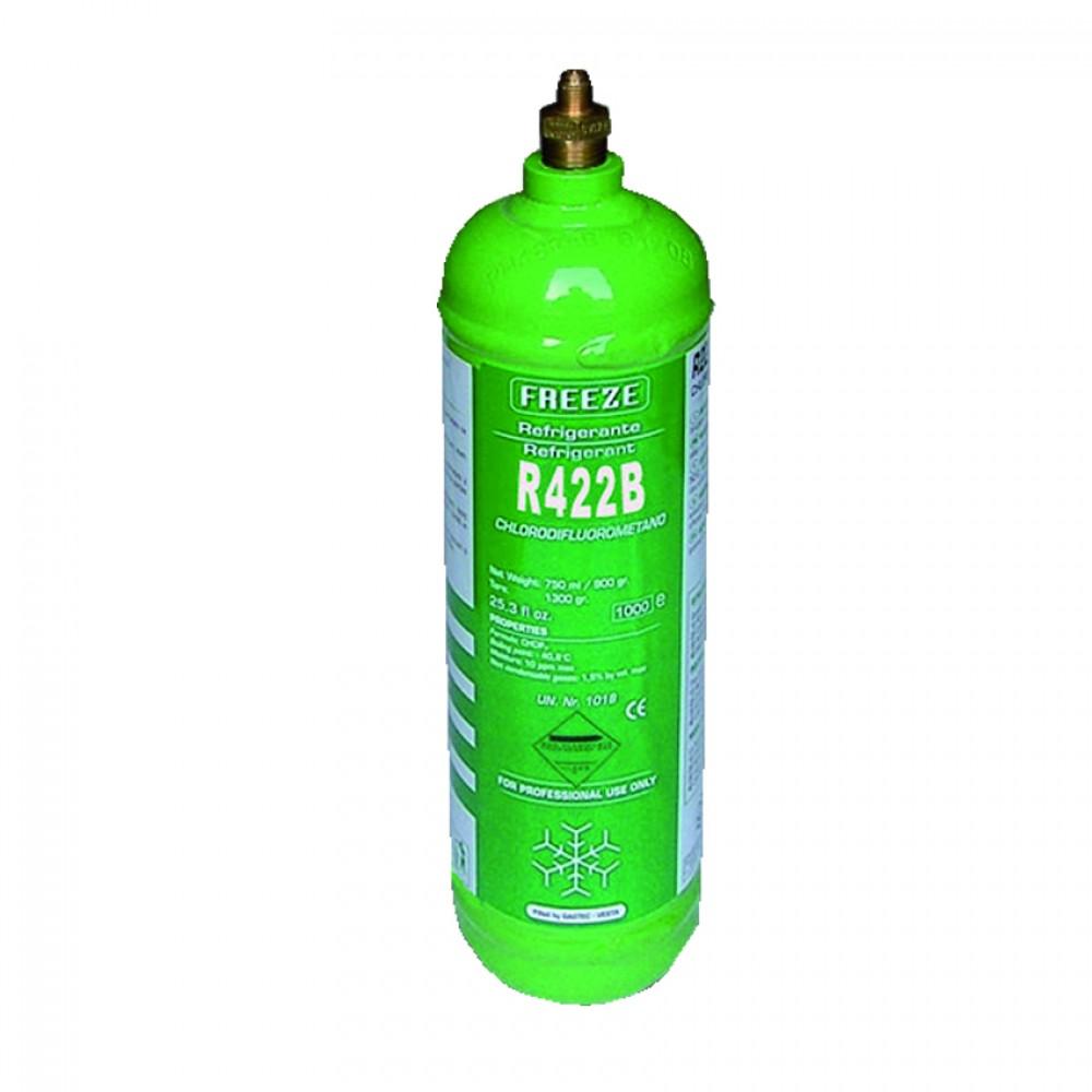 Bombola Ferro Ric. Gas R422B Gr.850