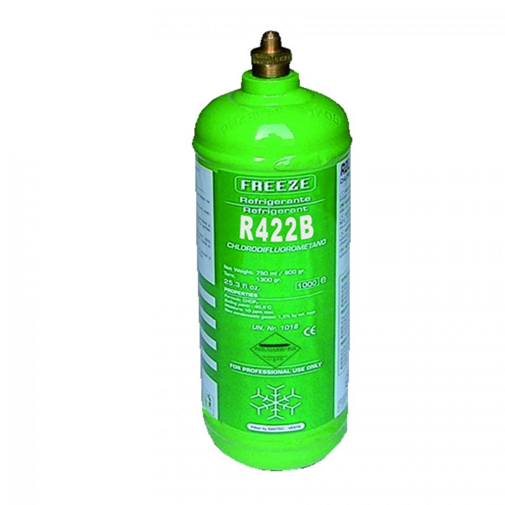Bombola Ferro Ric. Gas R422B Kg.2