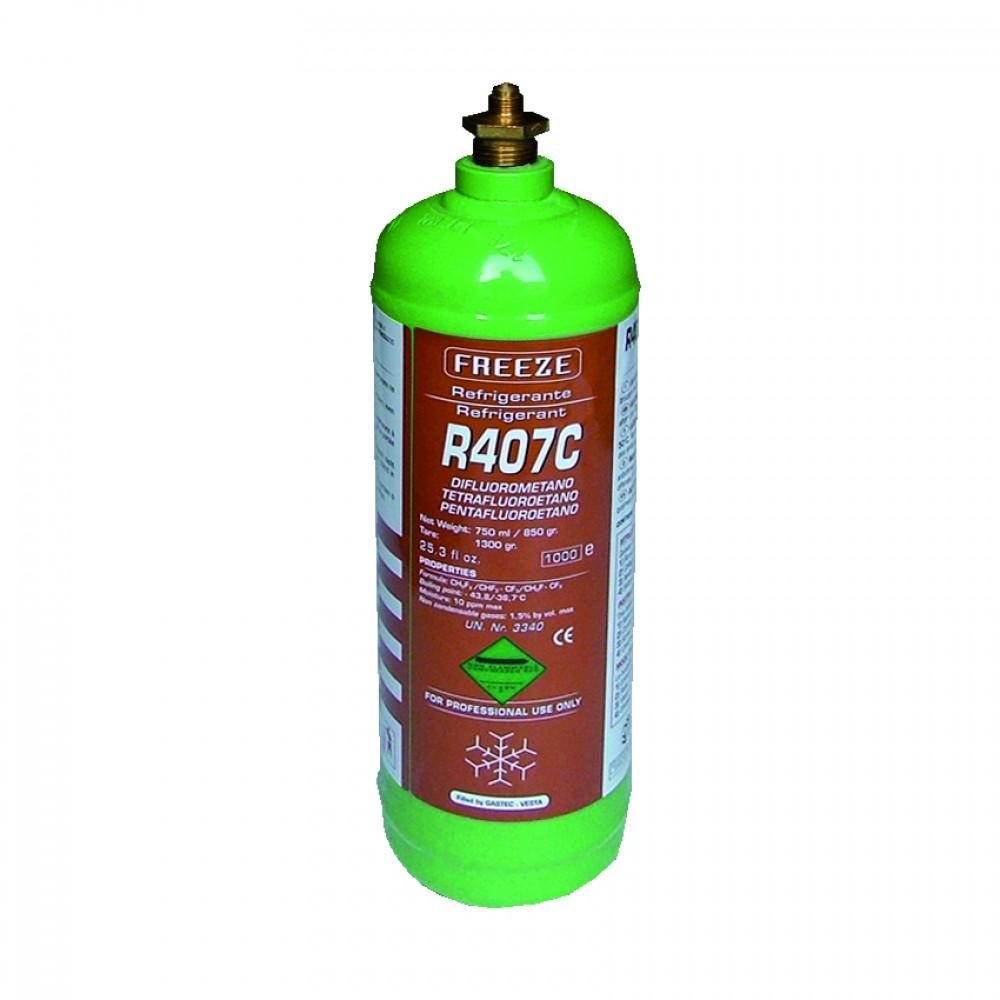 Bombola Ferro Ric. Gas R407C Gr. 850