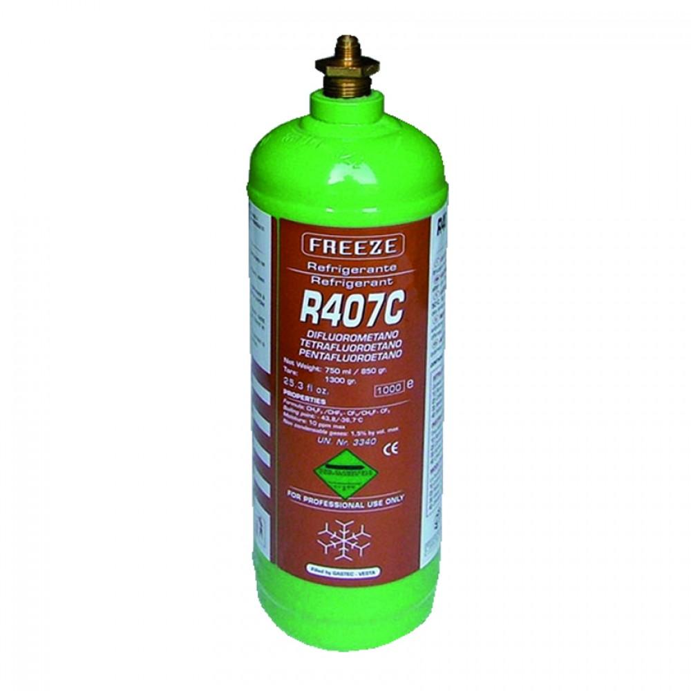 Bombola Ferro Ric. Gas R407C Kg. 1,7