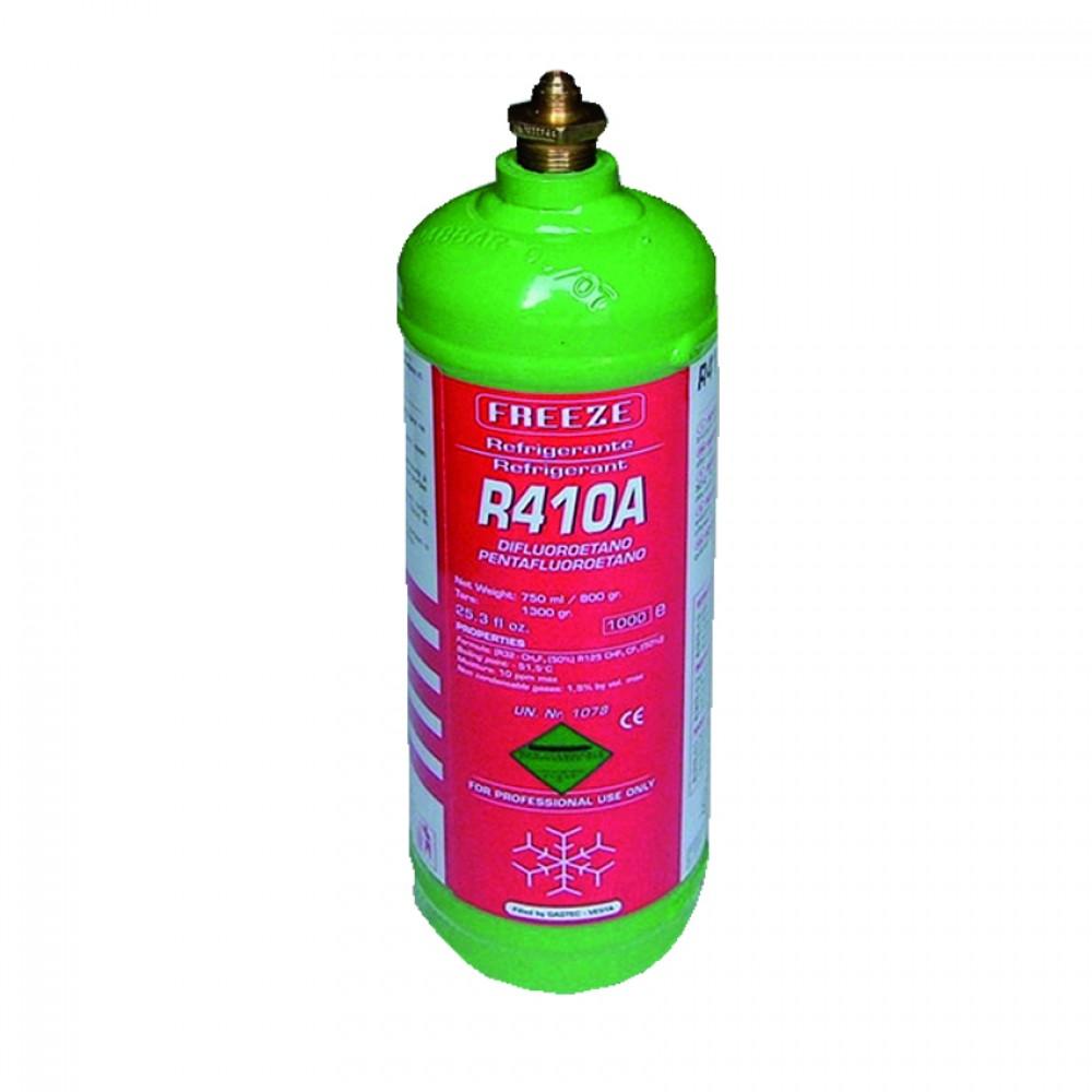 Bombola Ferro Ric. Gas R410A Kg.1,6