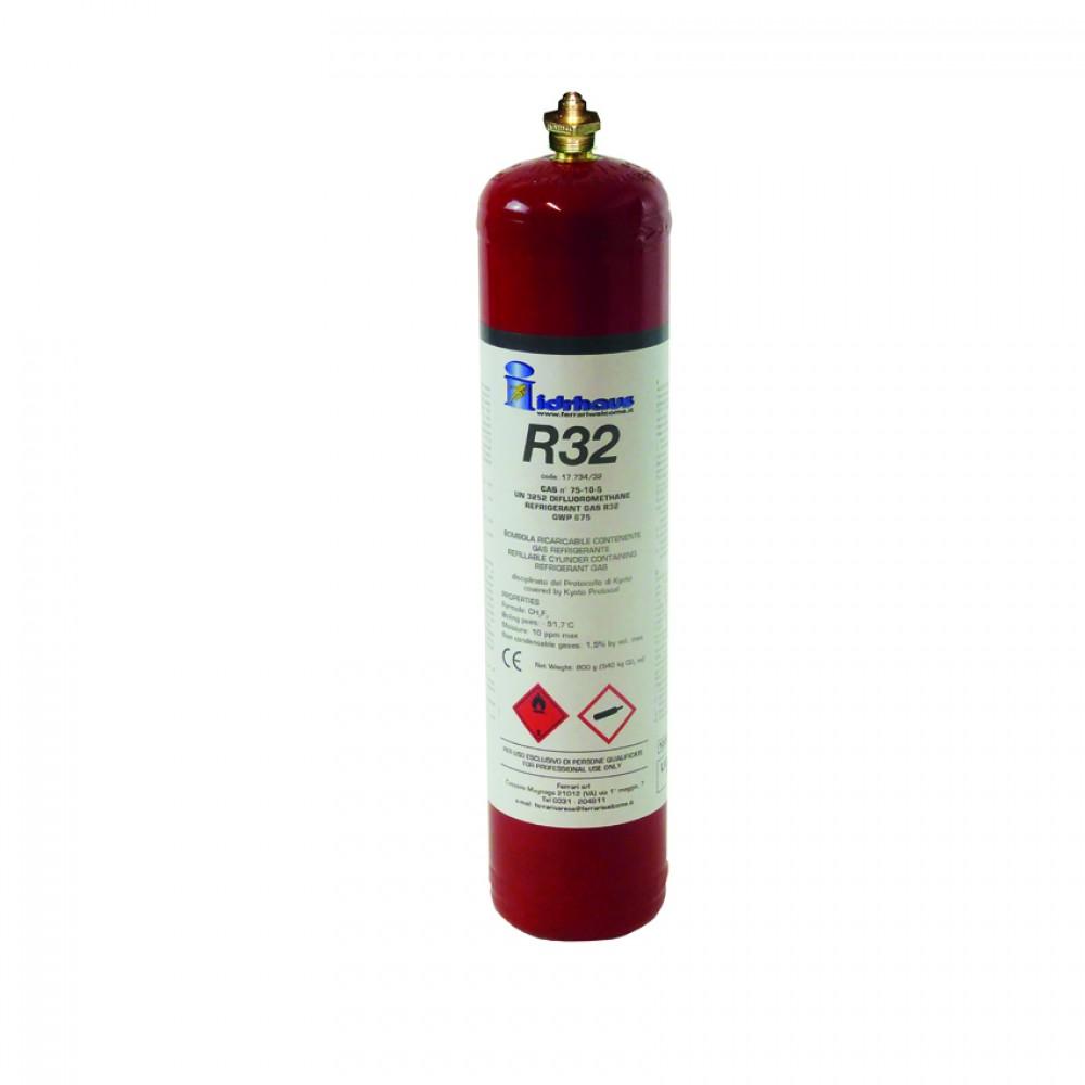 Bombola  Gas R32  Kg. 1,8