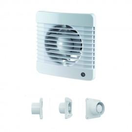Aspiratore 220/240Vac Ip34 14W  98M3/H Ø100 Smart 100M