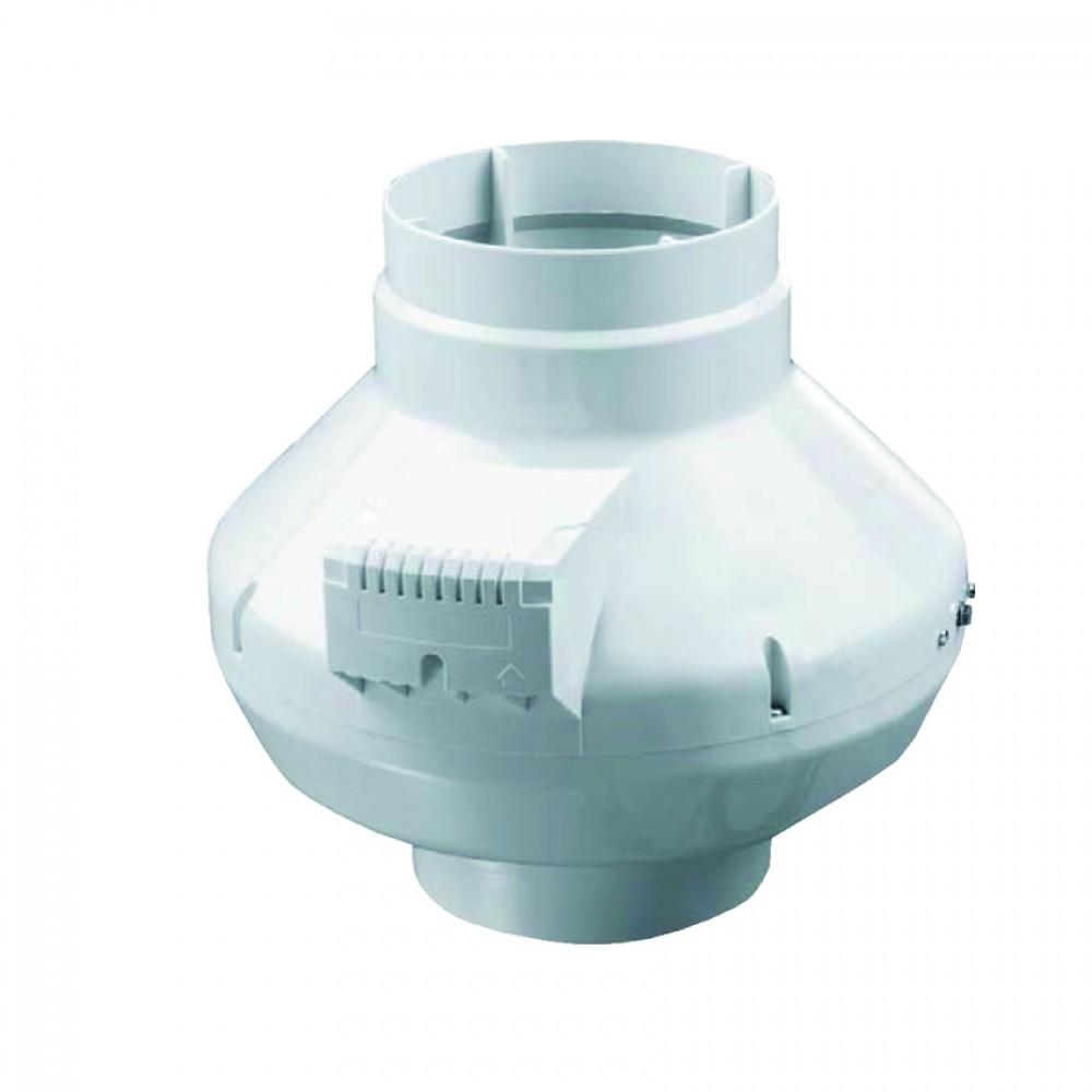 Aspiratore 220/240Vac Ipx4 80W 250Mc/H Ø100 Spin 100Vk Centrifugo