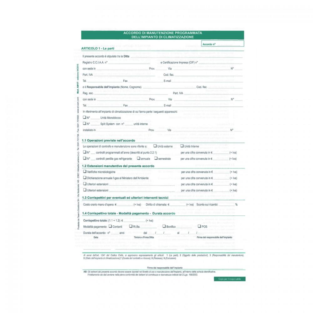 Accordi Di Manutenzione Programmata (Clima) Per Manutentore Clima