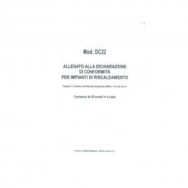 Allegato Conformita' Impianti Di Climatizzazione Per Installatore