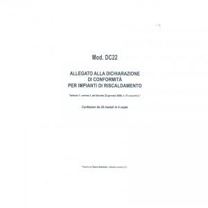 Allegato Conformita' Impianti Di Climatizzazione P..