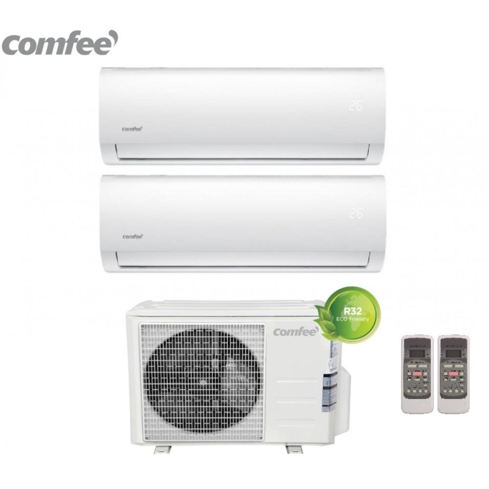 Climatizzatore Condizionatore Comfee Dual Split Inverter R-32 serie SIRIUS 9000+9000 con 2E-18K 9+9 -NEW
