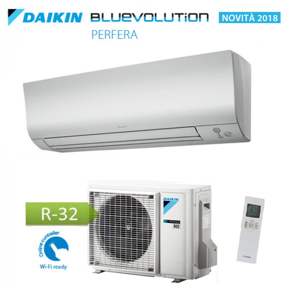CLIMATIZZATORE CONDIZIONATORE DAIKIN Bluevolution INVERTER PERFERA 15000 btu Wi-Fi Ready A++ R-32 FTXM42M