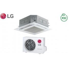 Climatizzatore Condizionatore LG Inverter Cassetta 4 Vie R-32 12000 btu cod. CT12R NR0 A++/A+ - NEW