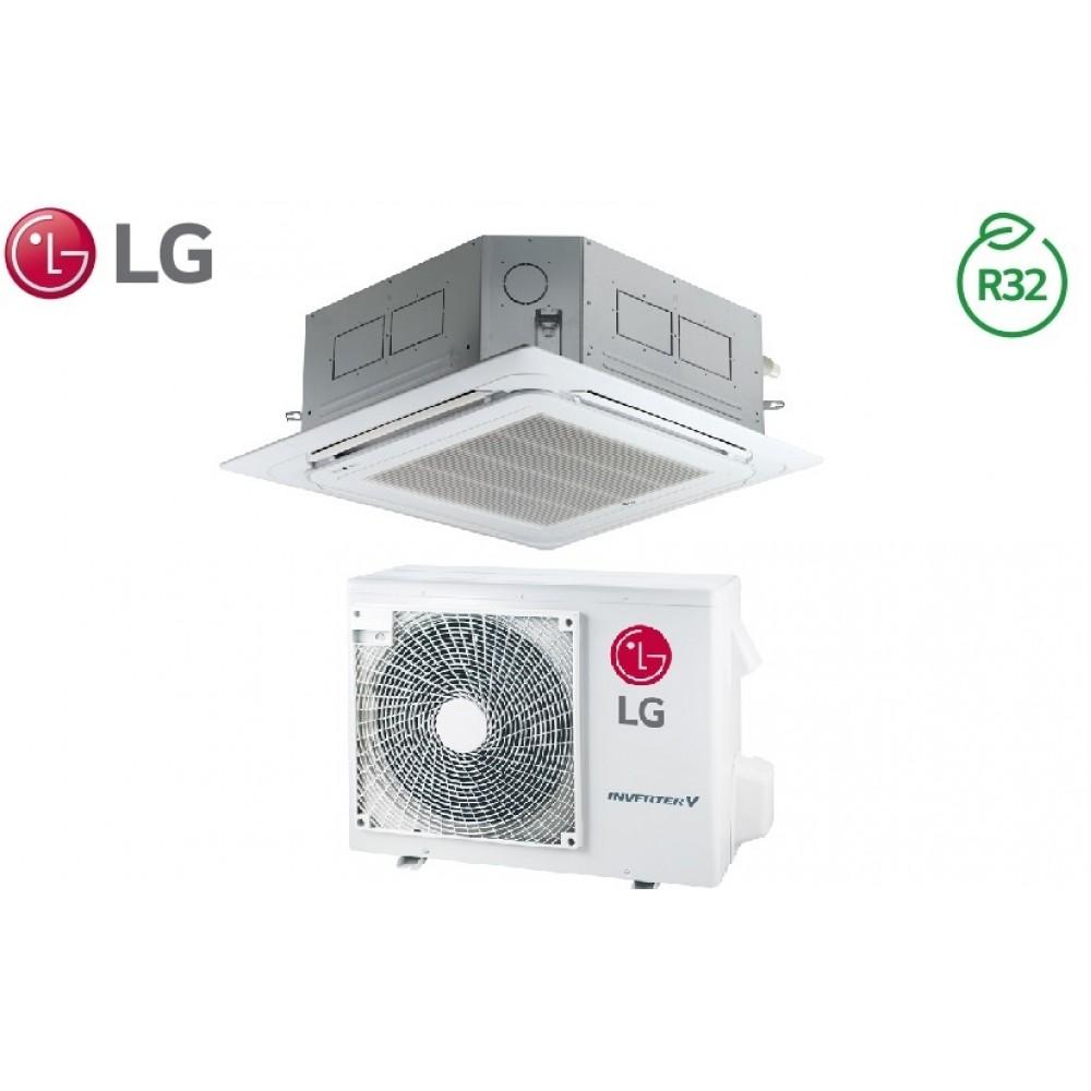 Climatizzatore Condizionatore LG Inverter Cassetta 4 Vie R-32 18000 btu cod. CT18R NQ0 A++/A+ - NEW