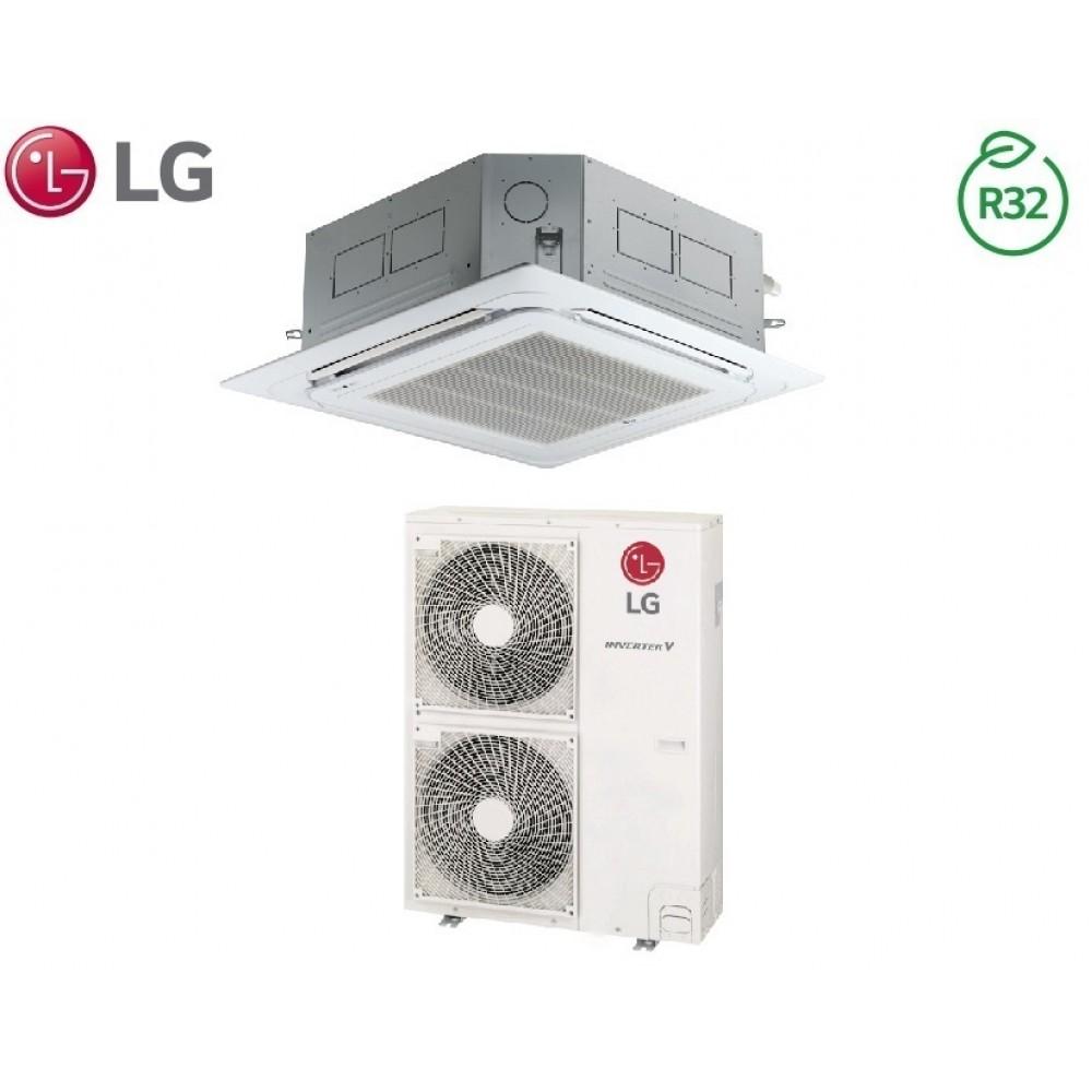 Climatizzatore Condizionatore LG Inverter Cassetta 4 Vie R-32 42000 btu cod. UT42R NM0 A++/A+ - NEW