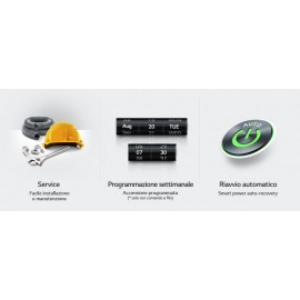 Climatizzatore Condizionatore Inverter LG Canalizzato 12000 btu R-32 CL12R N20 A++/A+ - NEW