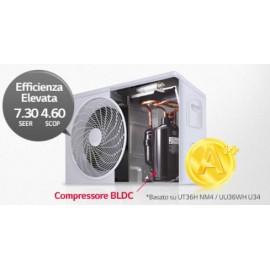 Climatizzatore Condizionatore Inverter LG Canalizzato Alta Prevalenza 18000 btu R-32 CM18R N20 A++/A+ - NEW