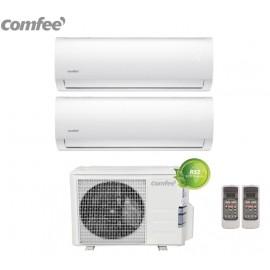 Climatizzatore Condizionatore Comfee Dual Split Inverter R-32 serie SIRIUS 9000+12000 con 2E-18K 9+12 -NEW