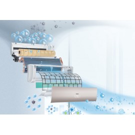 CLIMATIZZATORE CONDIZIONATORE INVERTER HAIER NEBULA GREEN W AS50S2SN2FA 18000 btu Wi-Fi R-32 A++