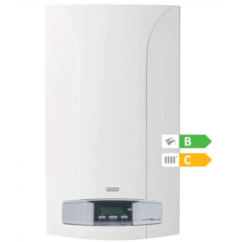 CALDAIA BAXI LUNA3 BLUE+ 240i GPL o METANO CAMERA APERTA - NEW ErP