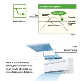 CLIMATIZZATORE CONDIZIONATORE DAIKIN INVERTER serie SIESTA ATX35J3 12000 BTU - NUOVA PRODUZIONE