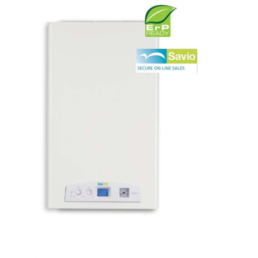 CALDAIA SAVIO alDENS 35* A CONDENSAZIONE COMPLETA DI KIT FUMI GPL o METANO ideale per impianti a radiatori - NEW ErP