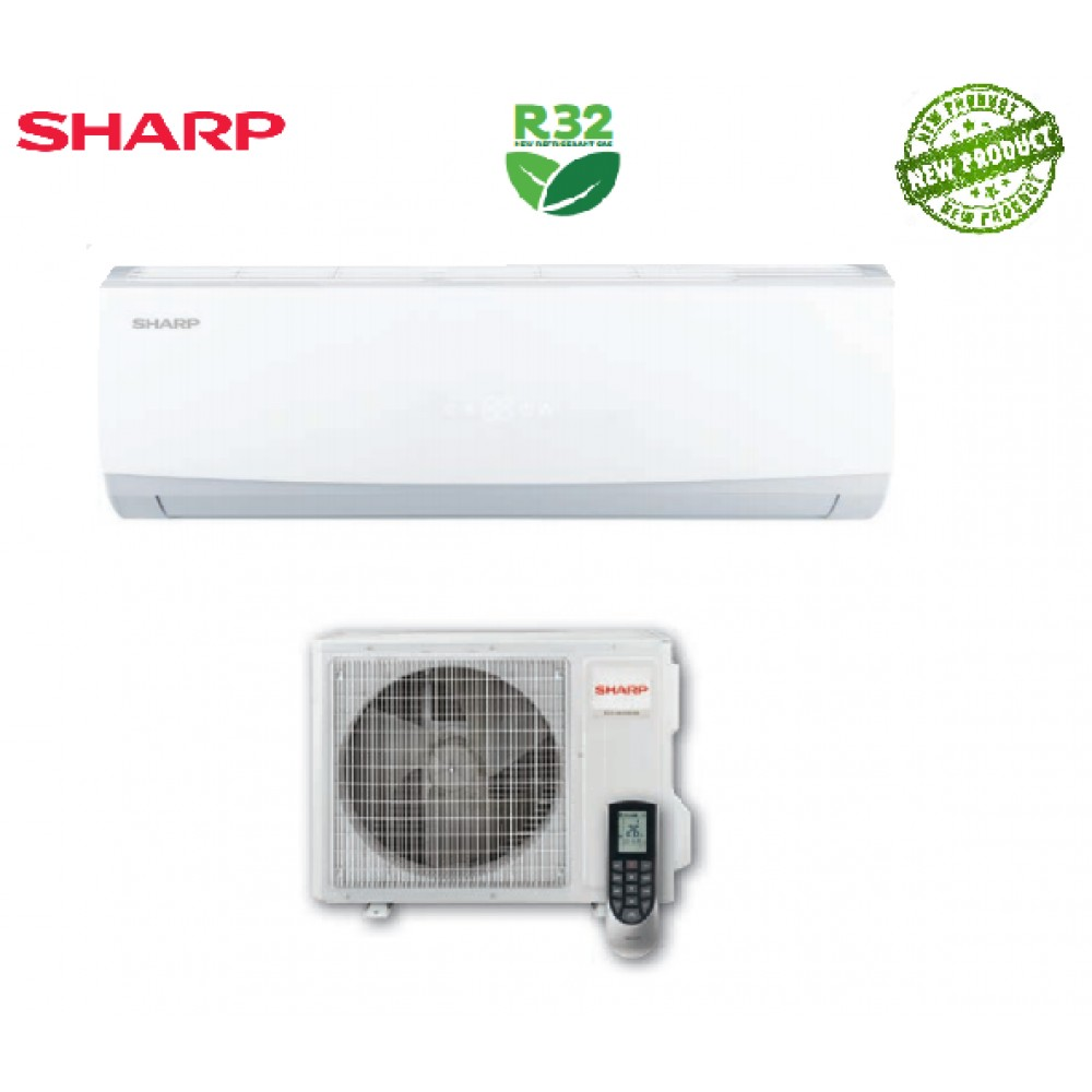 CLIMATIZZATORE CONDIZIONATORE SHARP HI-WALL INVERTER A++ USR 18000 btu AY-X18USR R-32 - NEW