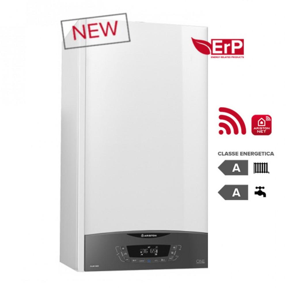 CALDAIA ARISTON a condensazione CLAS ONE 35 kW METANO o GPL completa di kit per scarico fumi WI-FI optional