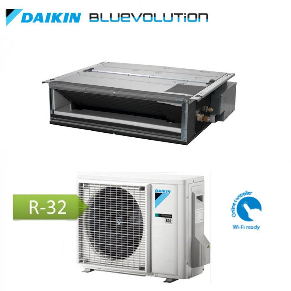 CLIMATIZZATORE CONDIZIONATORE DAIKIN Bluevolution INVERTER Canalizzato Ultrapiatto 12000 btu Wi-Fi Ready R-32 FDXM35F3