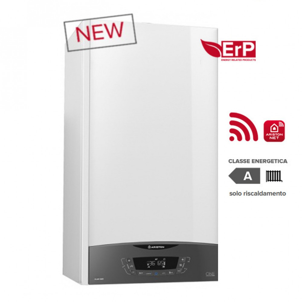 CALDAIA ARISTON a condensazione CLAS ONE SYSTEM 24 kW METANO o GPL completa di kit fumi WI-FI optional