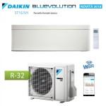 CLIMATIZZATORE CONDIZIONATORE DAIKIN Bluevolution INVERTER STYLISH WHITE bianco 15000 btu Wi-Fi A++ R-32 FTXA42AW