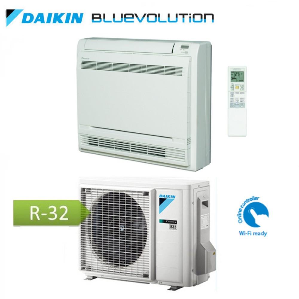 CLIMATIZZATORE CONDIZIONATORE DAIKIN Bluevolution INVERTER a pavimento SERIE F 12000 btu Wi-Fi Ready A++ R-32 FVXM35F