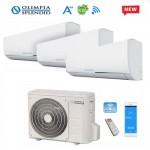 Climatizzatore Condizionatore Trial Split Olimpia Splendid NEXYA S4 E INVERTER 9+9+9 con OS-CEMEH26EI Wi-Fi Ready R32 NEW