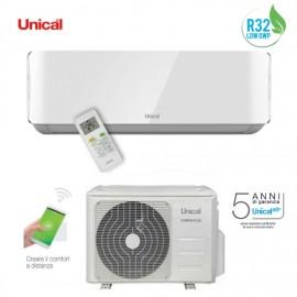 Climatizzatore Condizionatore Unical Inverter Air Cristal R-32 9000 / 10000 btu Mod. KMUN 10H A++/A+ (Wifi Optional)