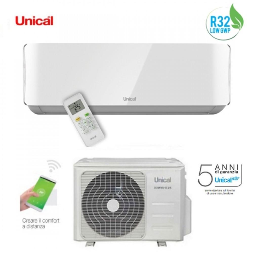 Climatizzatore Condizionatore Unical Inverter Air Cristal R-32 18000 btu Mod. KMUN 18H A++/A+ (Wifi Optional)