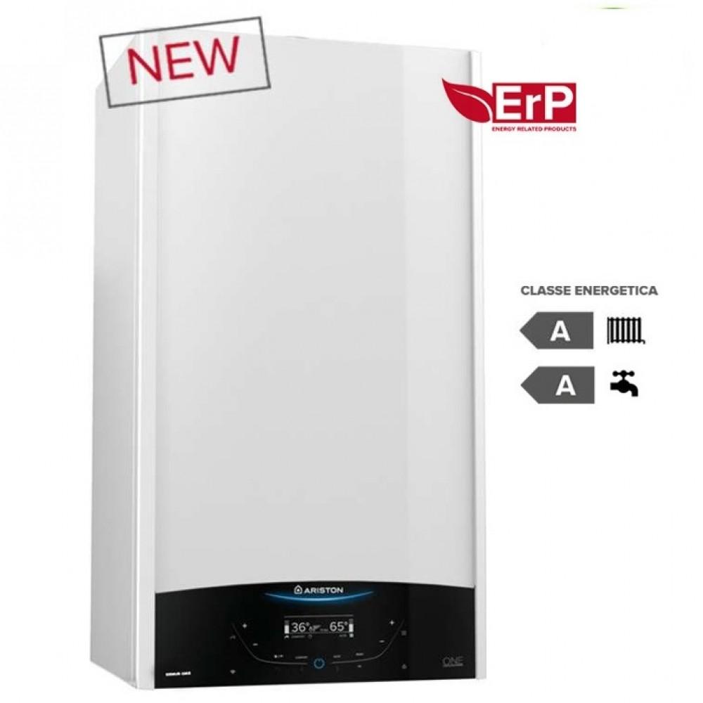 CALDAIA ARISTON a condensazione GENUS ONE 24 kW METANO o GPL completa di kit per scarico fumi - NEW ErP