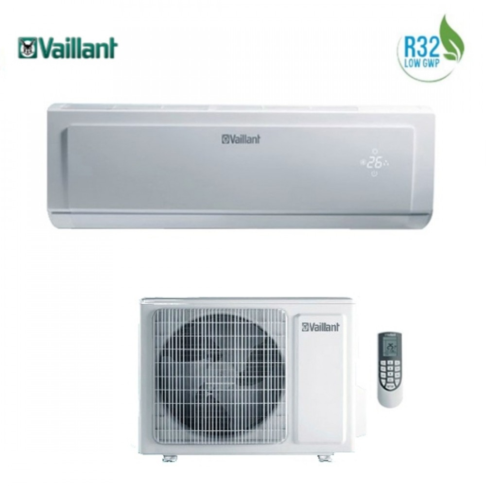 Climatizzatore Condizionatore Vaillant Inverter climaVAIR Plus VAI 8 24000 btu R-32 VAI 8-065 WN A++/A+