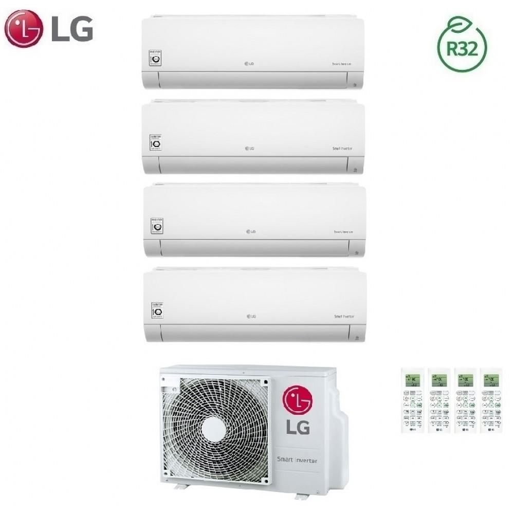 Climatizzatore Condizionatore LG Quadri Split Inverter LIBERO R-32 7000+7000+9000+12000 con MU4R25 7+7+9+12 - NEW 2018