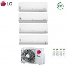 Climatizzatore Condizionatore LG Quadri Split Inverter LIBERO R-32 9000+9000+9000+12000 con MU4R25 9+9+9+12 - NEW 2018