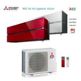 Climatizzatore Condizionatore Mitsubishi Electric Dual Split Inverter MSZ-LN Kirigamine Style R-32 9000+9000 con MXZ-2F53VF Wi-Fi NEW 9+9