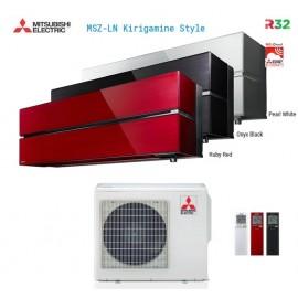 Climatizzatore Condizionatore Mitsubishi Electric Trial Split Inverter MSZ-LN Kirigamine Style R-32 9000+9000+12000 con MXZ-3F54VF Wi-Fi NEW 9+9+12