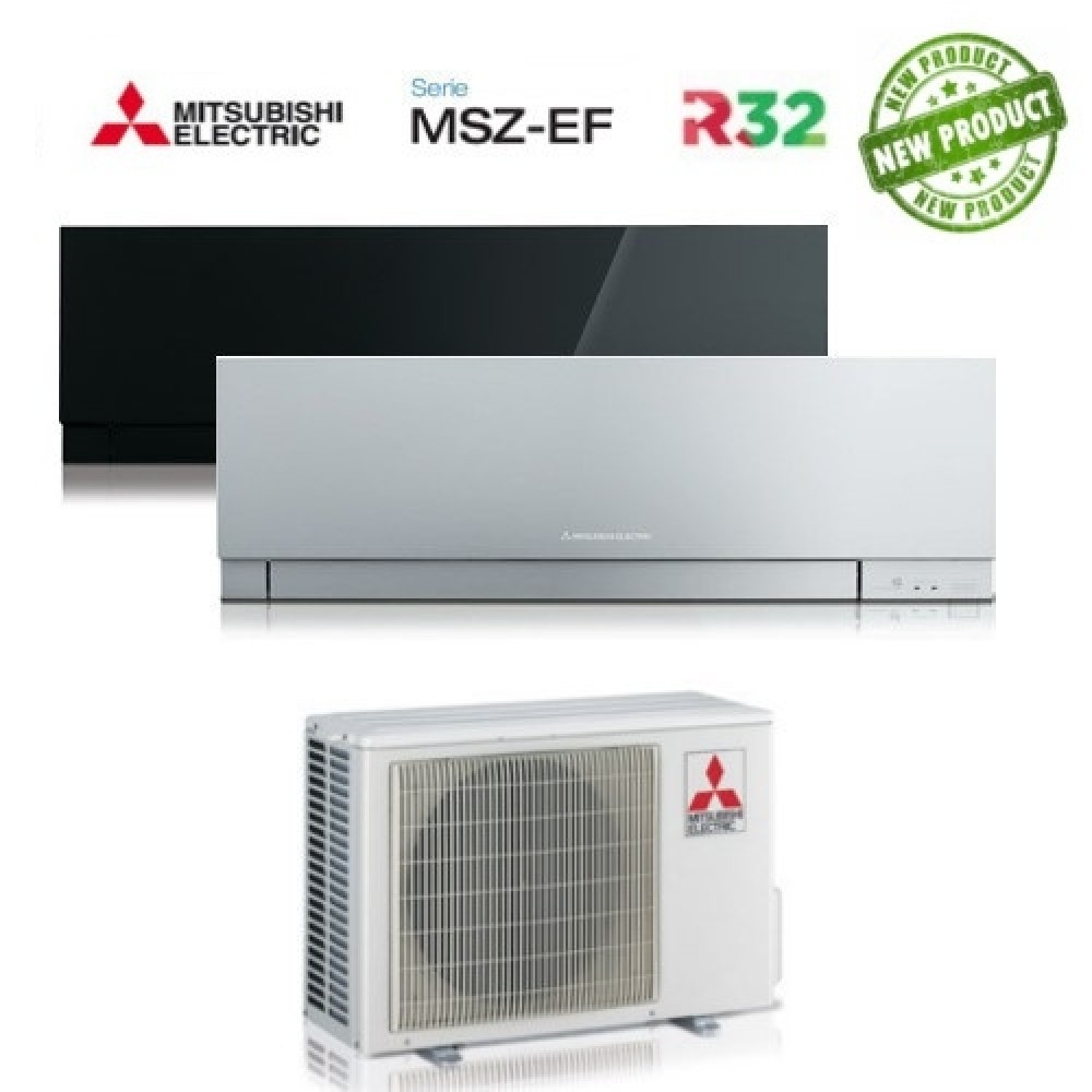 Climatizzatore Condizionatore Mitsubishi Electric Dual Split Inverter MSZ-EF Kirigamine Zen R-32 9000+9000 con MXZ-2D53VA2 NEW 9+9