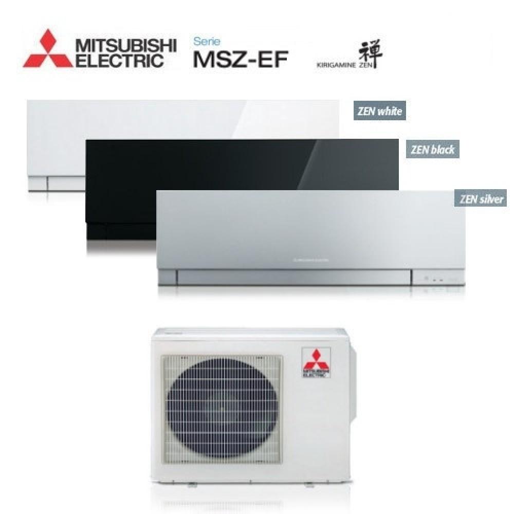 Climatizzatore Condizionatore Mitsubishi Electric Trial Split Inverter MSZ-EF Kirigamine Zen R-32 9000+9000+12000 con MXZ-3F54VF NEW 9+9+12