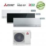 Climatizzatore Condizionatore Mitsubishi Electric Trial Split Inverter MSZ-EF Kirigamine Zen R-32 12000+12000+12000 con MXZ-3F68VF NEW 12+12+12