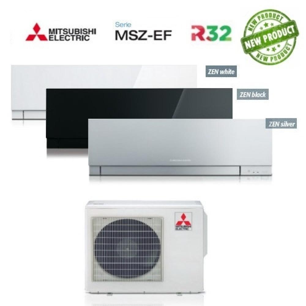 Climatizzatore Condizionatore Mitsubishi Electric Trial Split Inverter MSZ-EF Kirigamine Zen R-32 9000+9000+18000 con MXZ-3F68VF NEW 9+9+18