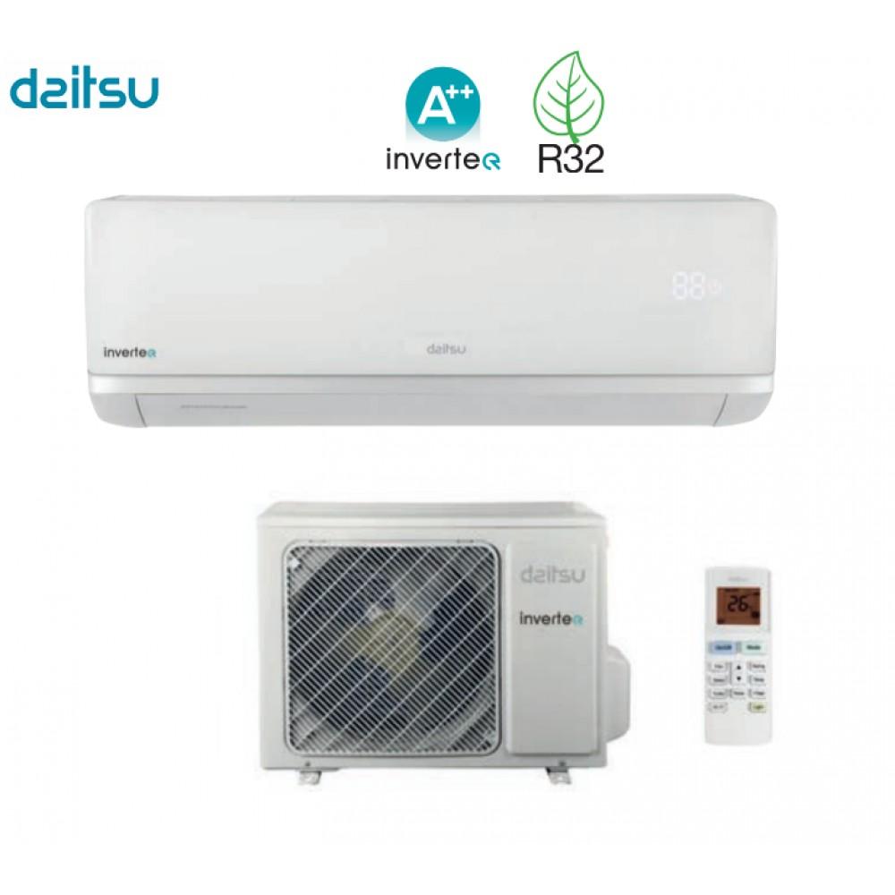 Climatizzatore Condizionatore Daitsu Inverter AIR R-32 ASD9KI-DC 9000 btu A++/A+ Wi-Fi - NEW