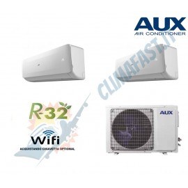 Climatizzatore Condizionatore AUX Inverter Plus FH Dual 9+12 A++/A+ WiFi Ready AM2H14/4DR3 R-32 9000+12000