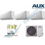 Climatizzatore Condizionatore AUX Inverter Plus FH Trial 9+9+9 A++/A+ WiFi Ready AM3H27/4DR3 R-32 9000+9000+9000