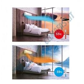 Climatizzatore Condizionatore AUX Inverter Plus FH Dual 7+9 A++/A+ WiFi Ready AM2H14/4DR3 R-32 7000+9000