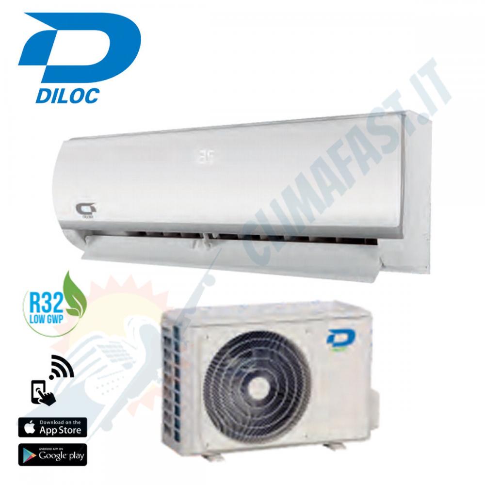Climatizzatore Condizionatore DILOC FROZEN Inverter 18000 btu Monosplit A++ / A++